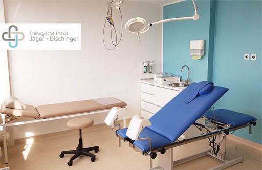 Chirurgische Praxis Duesseldorf Jaeger und Dischinger Fachärzte für Allgemeinchirurgie und Viszeralchirurgie. Räumlichkeiten